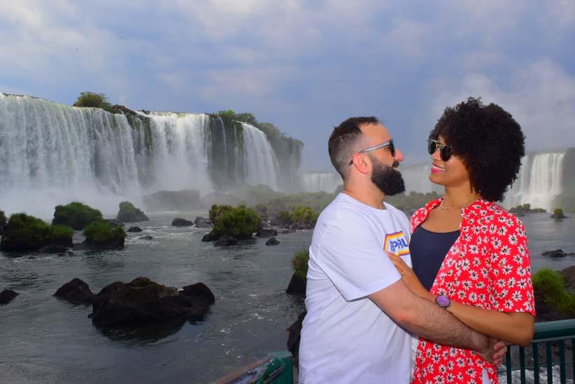 O amor está no Parque Nacional do Iguaçu - Foto:  Alexandre Soto/Cataratas SA